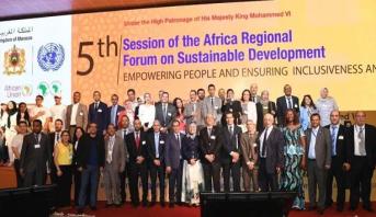 مراكش .. اختتام أشغال الدورة الخامسة للمنتدى الإفريقي للتنمية المستدامة