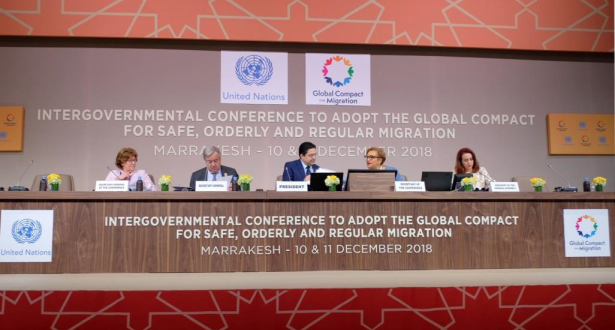 """الأمم المتحدة: إعمال """"ميثاق مراكش"""" سيسهم في حل أزمة الهجرة العالمية الحالية"""
