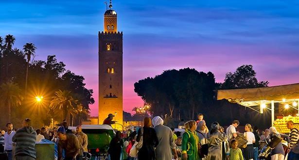 مراكش ...ارتفاع عدد الليالي السياحية خلال شهر دجنبر 2018