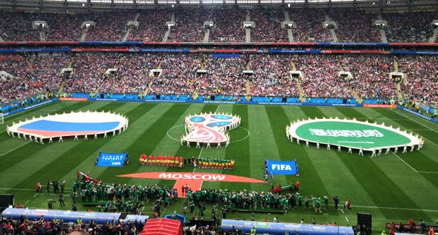 Coup d'envoi du Mondial-2018 avec Russie-Arabie saoudite