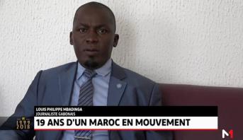 """Louis Philippe Mbadinga: """"Le Roi Mohammed VI s'inscrit dans un leadership moderne, tourné vers l'Afrique"""""""