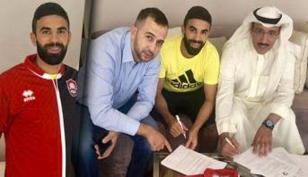"""نادي """"الرائد"""" السعودي يضم المغربي محمد فوزير"""