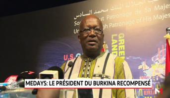 MEDays 2018: le président du Burkina Faso  récompensé