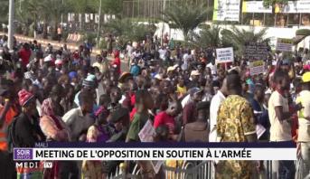 Mali : grand rassemblement de la société civile pour soutenir l'armée