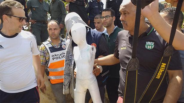 بالفيديو .. إعادة تمثيل أطوار جريمة قتل قاصر بمكناس