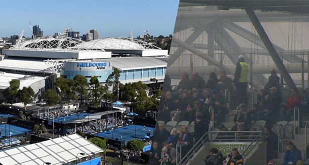 بطولة أستراليا المفتوحة: تعليق التمارين بسبب دخان الحرائق