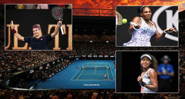 بطولة استراليا المفتوحة: بداية جيدة لأوساكا وسيرينا وفيدرر