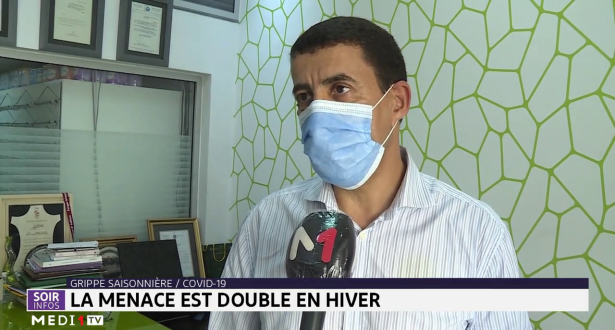 Grippe saisonnière / Covid-19: la menace est double en hiver
