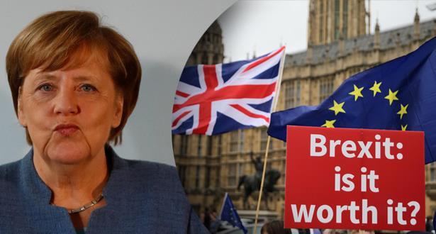 ميركل تؤيد الاتفاق بشأن خروج البريطاني من الاتحاد الأوروبي