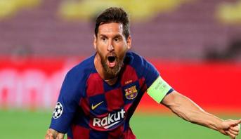 أبطال أوروبا.. ميسي يقود برشلونة إلى ربع النهائي
