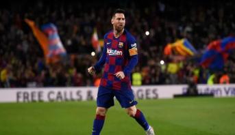 """""""هاتريك"""" ميسي يقود برشلونة لفوز كبير على سلتا فيغو"""