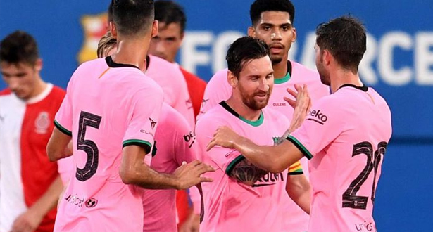 Amical: Victoire du Barça sur Gérone (3-1), doublé de Messi