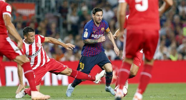 ميسي ينفرد بصدارة هدافي الدوري الإسباني
