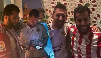 """فيديو .. ميسي في السعودية وآل الشيخ يعرض ضمه حين يصبح """"رخيصا"""""""