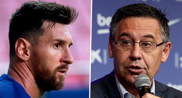 """Bartomeu: """"Messi est la clé du nouveau projet du FC Barcelone"""""""