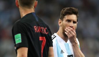 """هزيمة """"مُذلة"""" للأرجنتين أمام كرواتيا"""