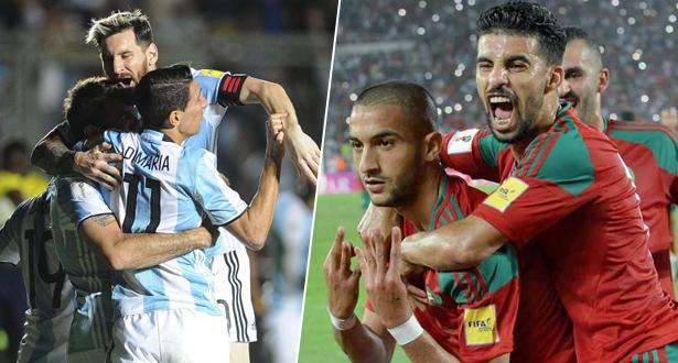 """رسميا .. تغيير ملعب مباراة """"أسود الأطلس"""" والأرجنتين"""