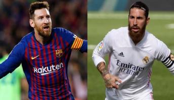 """تشكيلة برشلونة وريال مدريد في """"الكلاسيكو"""""""