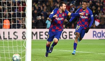 ميسي يهدي سيتيين الفوز في مستهل مشواره مع برشلونة
