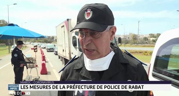 Coronavirus: les mesures de la préfecture de police de Rabat