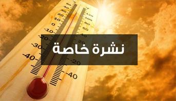 نشرة خاصة .. طقس حار يومي الأحد والإثنين وزخات رعدية محليا قوية اليوم الأحد بعدد من أقاليم وعمالات المملكة