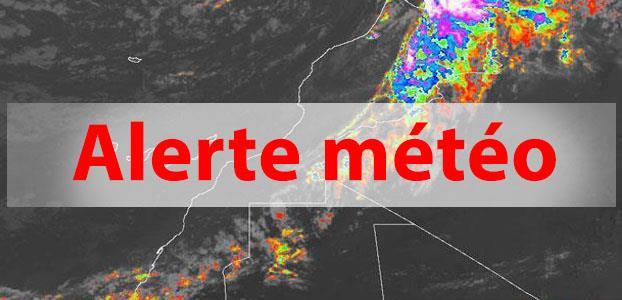 Alerte météo: averses orageuses localement fortes ce vendredi dans plusieurs régions du Maroc