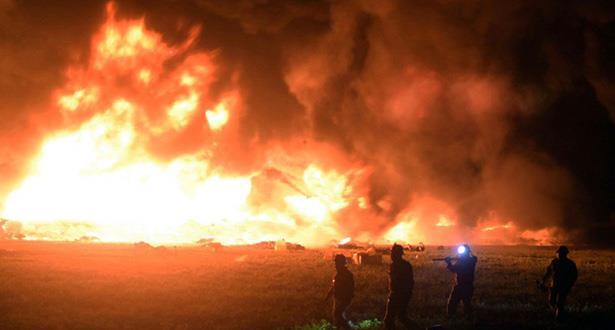 ارتفاع حصيلة ضحايا انفجار أنبوب نفطي بوسط المكسيك