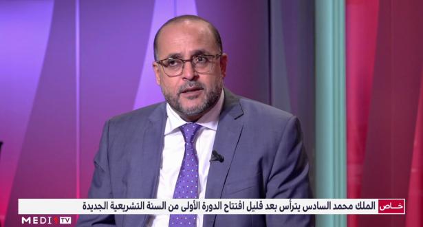 عبد العزيز الرماني يبرز الأهمية الخاصة للسنة التشريعية الجديدة مقارنة بسابقاتها