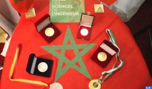 """""""أسبوع الابتكار في إفريقيا 2020 """" .. المدرسة المغربية لعلوم المهندس تتوج بأربع ميداليات ذهبية"""