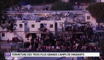 Grèce: fermeture des trois plus grands camps de migrants