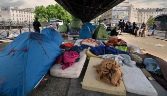Paris: lancement d'une opération d'évacuation de migrants