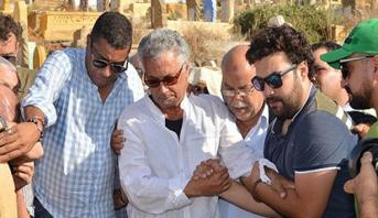 تشييع جثمان الفنان الراحل حسن ميكري بمقبرة الشهداء بالرباط