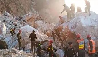 Pakistan: 19 morts dans l'éboulement d'une mine de marbre