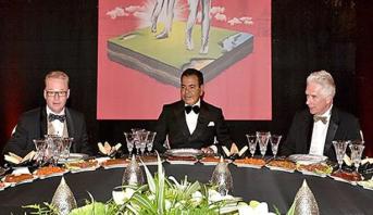 Le Prince Moulay Rachid préside un dîner offert par le Roi en l'honneur des invités du Trophée Hassan II de golf et de la Coupe Lalla Meryem