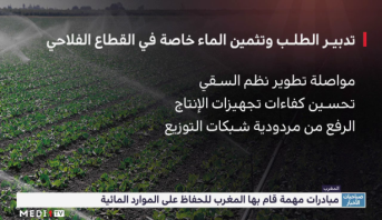 مبادرات مهمة قام بها المغرب للحفاظ على الموارد المائية