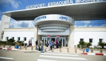 تسجيل ارتفاع في حركة المسافرين بمطار الصويرة خلال الستة أشهر الأولى من 2018