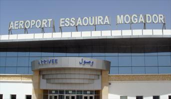 ارتفاع حركة النقل الجوي بمطار الصويرة - موكادر خلال شهر مارس 2019