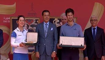 الأمير مولاي رشيد يترأس بالرباط حفل تسليم الجوائز للفائزين بجائزة الحسن الثاني وكأس الأميرة للا مريم للغولف