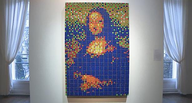 لوحة الموناليزا بحلة حديثة تباع بأكثر من 480 ألف يورو في مزاد باريسي