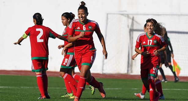 المنتخب المغربي النسوي لكرة القدم في تجمع إعدادي بالمعمورة