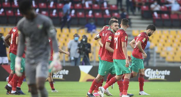 الكاميرون 2021 .. ضربة جزاء تحسم لقاء المنتخب المغربي للاعبين المحليين مع نظيره الطوغولي