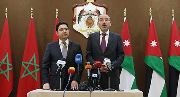 Le Maroc et la Jordanie déterminés à développer leur partenariat stratégique
