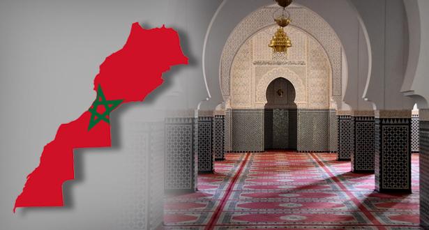لائحة المساجد المفتوحة بالمغرب حسب كل مندوبية