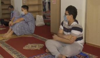 روبورتاج .. المساجد تفتح أبوابها في ظل تدابير وقائية صارمة