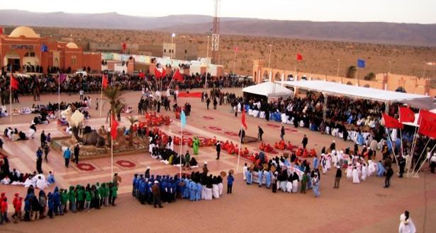 Ouverture du Moussem religieux annuel de la Zaouïa d'Assa