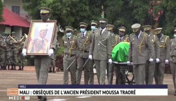 Mali: obsèques de l'ancien président Moussa Traoré