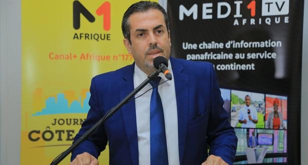 """""""ميدي 1 تيفي Afrique"""" تطلق بأبيدجان المرحلة الثانية لقافلتها """"طريق التنمية المشتركة"""""""