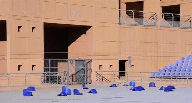 """إدارة ملعب مراكش تحصي الخسائر وعقوبات ثقيلة تنتظر """"القرش المسفيوي"""""""