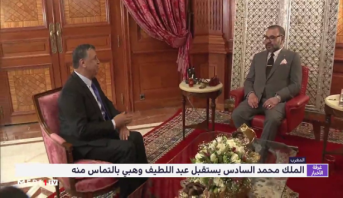 الملك محمد السادس يستقبل عبد اللطيف وهبي بالتماس منه