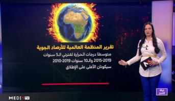 شاشة تفاعلية .. تقرير المنظمة العالمية للأرصاد الجوية حول التغيرات المناخية